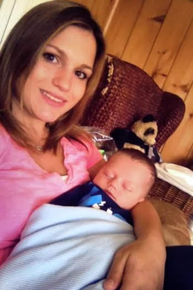 Rachel Sack, who was killed by a hit-and-run driver while walking in Danbury, had a 9-week-old  son, Jackson.