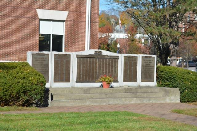 Mount Kisco's Veterans Day observance will be at The Veterans War Memorial.