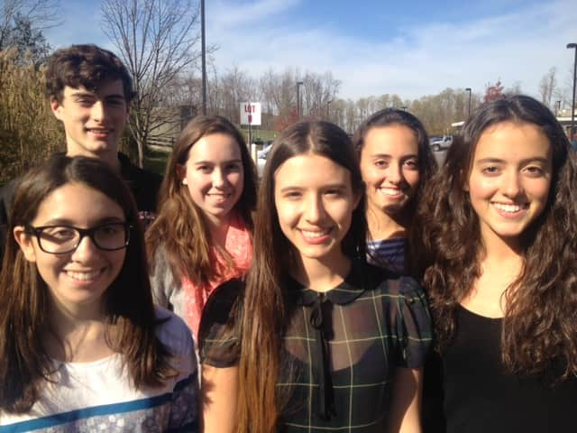 The Fox Lane students who will perform in New York All-State Music Ensembles.
