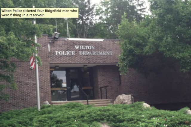 A man charged with drunk driving urinated after he was taken into custody by Wilton Police early Sunday.