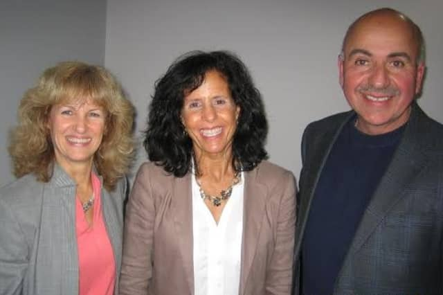 Gail Fattizzi, left, joins Joan Mancini, center, and Richard Mancini after Mancini Realty joined Westchester Real Estate, Inc. Fatizzi is the executive director of Westchester Real Estate, Inc.