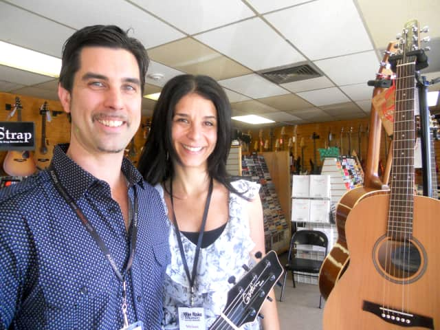 Mike and Miriam Risko, local rock stars, also own a music school.