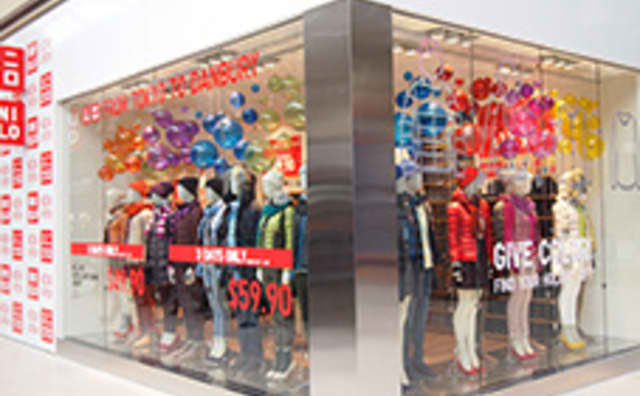 UNIQLO opened its doors at the Danbury Fair Mall on Nov. 7.