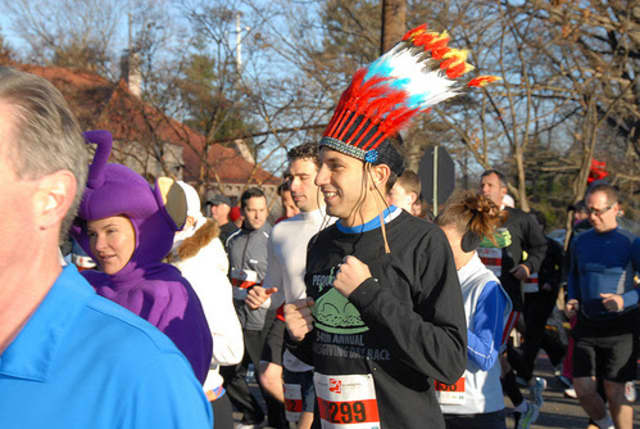The Pequot Runners host their annual Thanksgiving Day 5-mile race on Thursday.