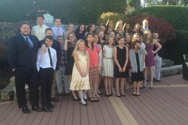 Members of the Wilton Wahoos were honored in early November at Cpnnecticut Swimming's annual awards banquet.