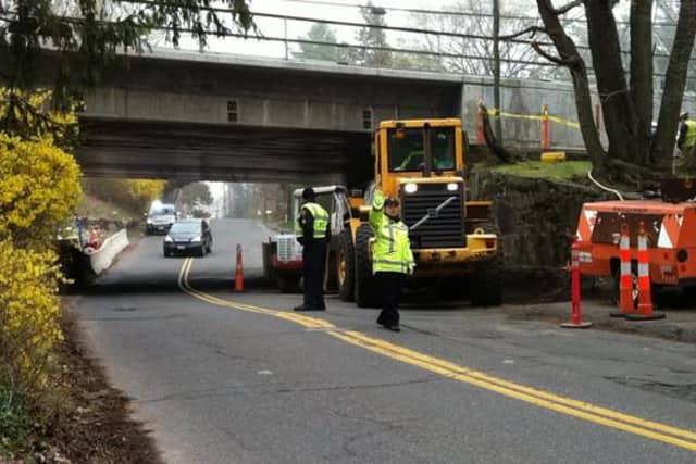 Part of Rowayton Avenue in Darien will close for construction beginning Monday, Nov. 17.
