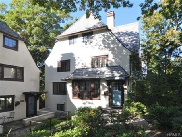This house at 47 Sagamore Road in Bronxville is open for viewing on Sunday.