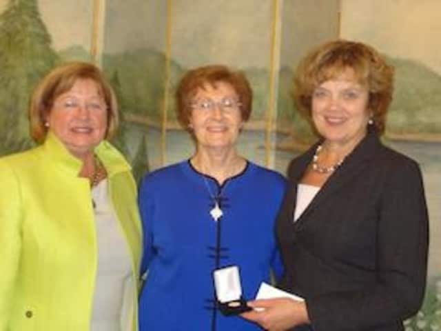 Pennsylvania officials recently honored Sister Janice McLaughlin, president of Ossining's Maryknoll Sisters.