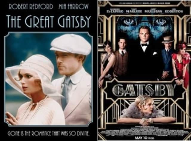 """The Ridgefield Playhouse is showing the two most recent film versions of """"The Great Gatsby."""""""