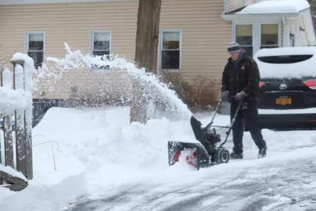 Snow angels clear the snow homes of seniors and disabled persons.