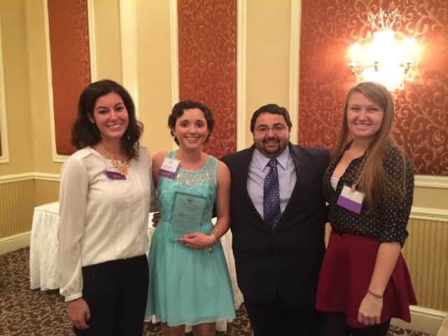 From left, Christina Antico of Smithtown, N.Y.; Diana Pernicano of Yorktown Heights; Anthony Cona of Farmingdale, N.Y.; and Laura Corveleyn of Union N.J.