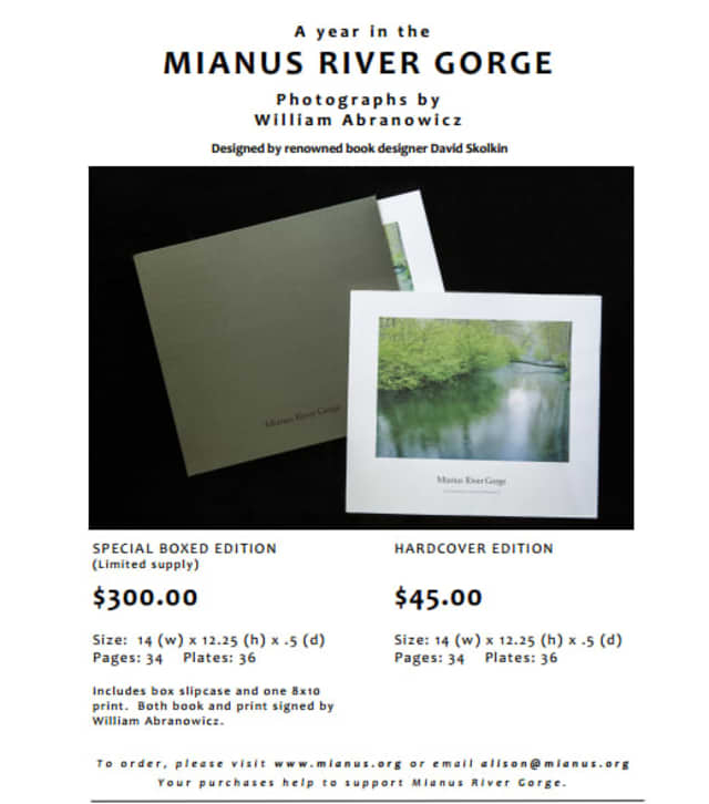 William Abranowicz, a Bedford resident, was granted access to take photographs at the Mianus River Gorge.