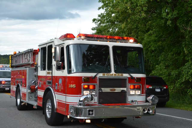 The Somers Fire Department said a cigarette butt likely caused a blaze that traveled to a home's basement.
