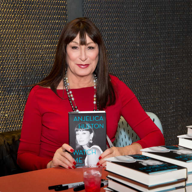 Angelica Huston discussed her new book.