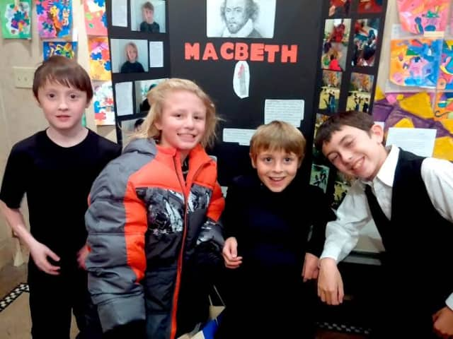 """Washington Irving students staged Shakespeare Night with a production of """"Macbeth."""""""