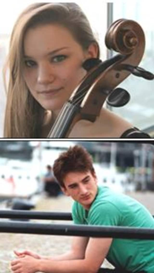 Madeleine Bouissou and Emil Duncumb will perform at The Ridgefield Playhouse.