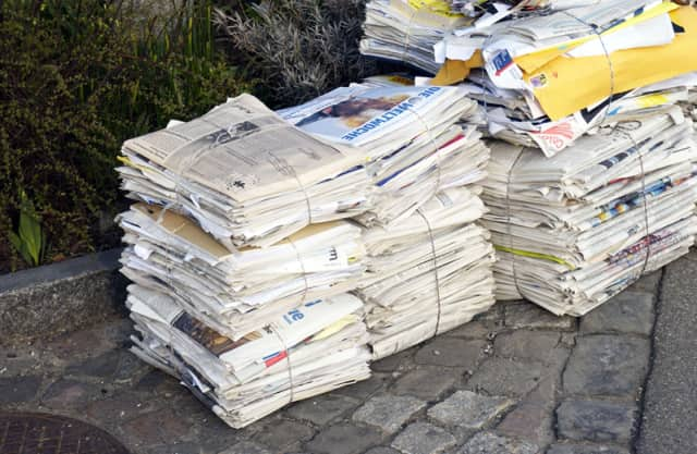 Wednesday's newspaper and cardboard recyclables has been suspended and will be collected on Wednesday, Dec 3.