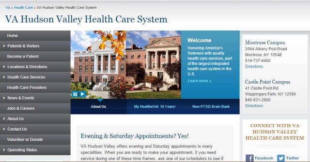 The VA Hudson Valley Health Care System is honored as a top performer by the Joint Commission.