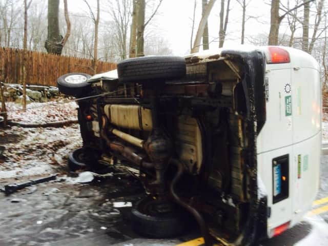 Slick Roads Lead To Crashes On Weston Roads | Westport Daily