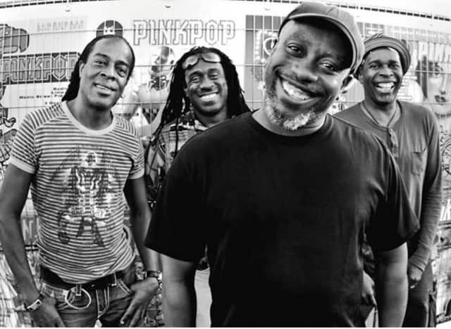 Living Colour, featuring Corey Glover, will perform at the Ridgefield Playhouse Feb. 13.