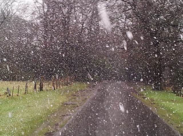 Fairfield County could see a wintry mix with sleet and some snow on Tuesday, but there will be little or no accumulation.