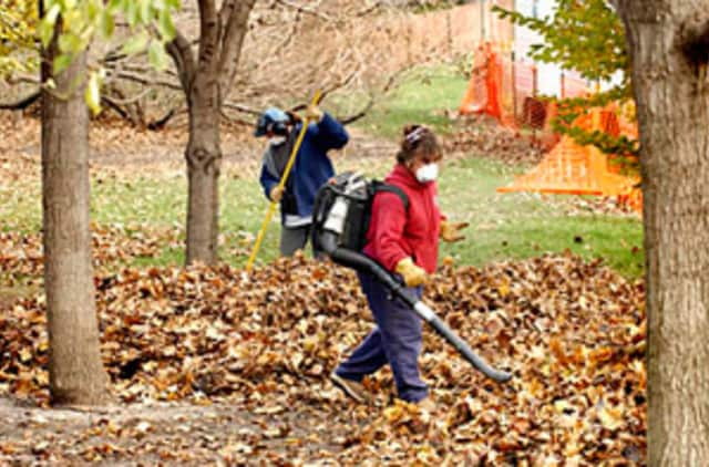 A Pound Ridge resident talks about leaf blowers and the environment.
