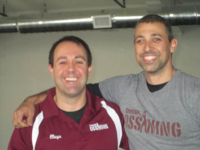 Elwyn Hutter and Avery Katz of Foundry Fitness in Ossining.