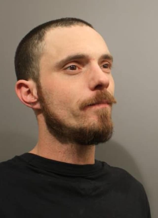 David Stuart Pollack, 35, of New Jersey, was charged with disorderly conduct and violating a protective order after he allegedly slapped a 66-year-old man at whose home he was staying.