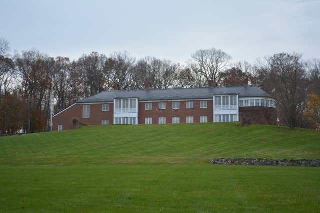 Paul Greenwood's former mansion in North Salem, which was the main house of his estate, was recently sold at auction.