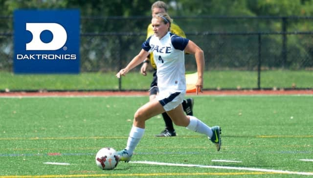 Pace University sophomore Alyssa Zeoli has been named to Daktronics/Division II Conference Commissioners Association All-America Second-Team.