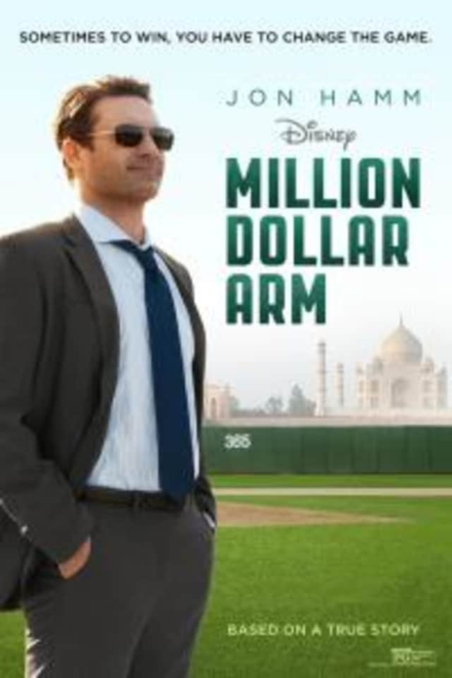 """The Darien Library will host a screening of """"The Million Dollar Arm"""" on Dec. 17."""