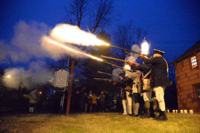 "Costumed Revolutionary War ""soldiers""  will be at Putnam Cottage."