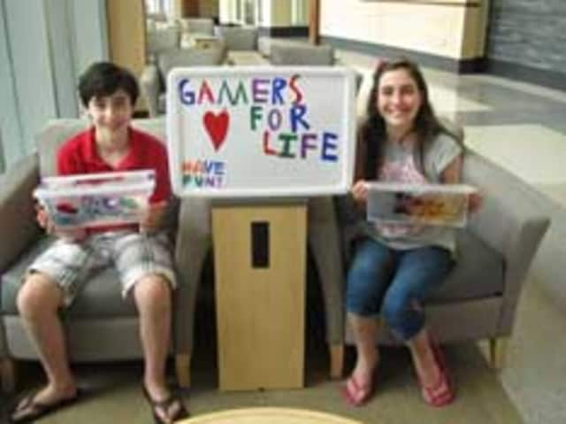 """Jake Rose and Chloe Rose, the founders of """"Gamers for Life."""""""