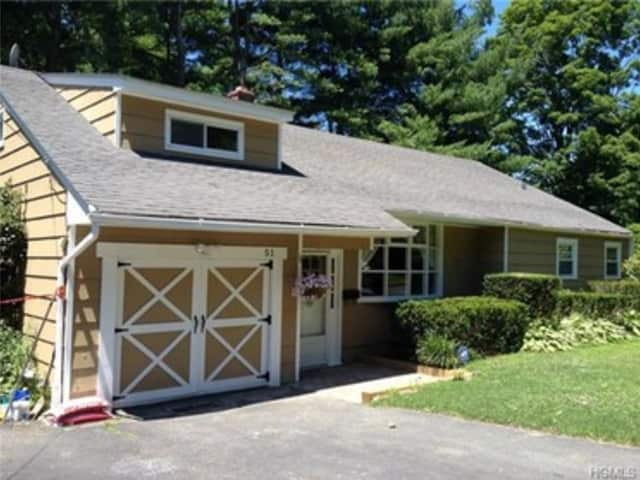 This house at 51 Valley View Terrace in Mount Kisco is open for viewing on Saturday.