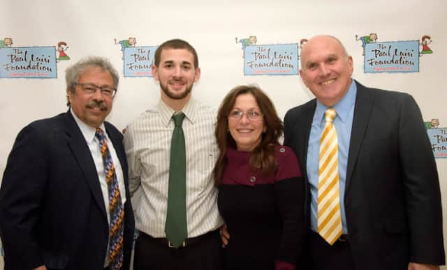 From left, Dr. Mitchell Cairo, Paul Luisi, Diane Luisi and Greg Luisi at this year's gala.
