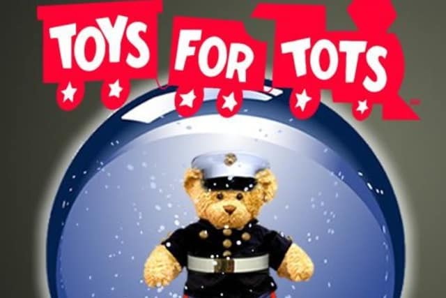 The Ridgefield Police Department headquarters is a Toy for Tots drop-off location.