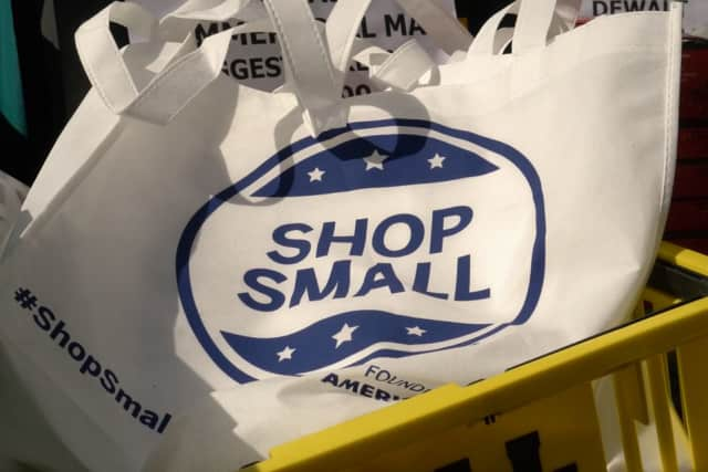 Scarsdale businesses had a big turnout for Small Business Saturday on Nov. 29.