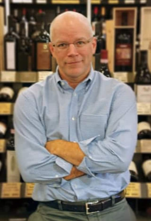 Andrew McMurray, co-owner of Scarsdale's Zachy's and the national wine consultant for single-serve wine company Zipz.