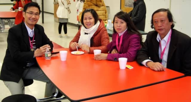A team of Vietnamese officials from the country's Department of Education and Training visited Elmsford schools.