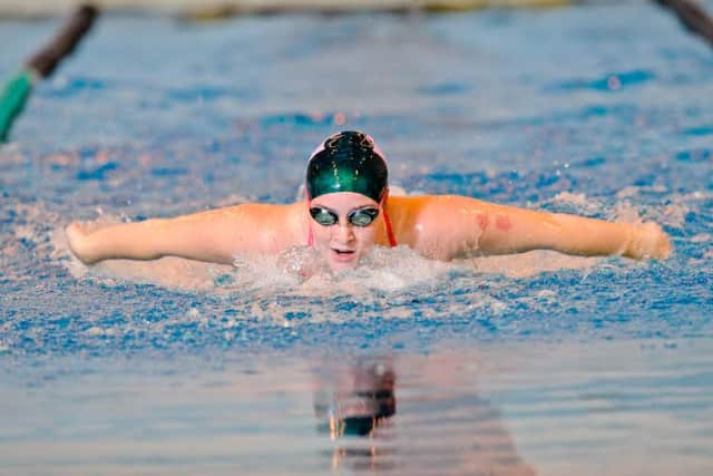 Mollie Smith is a sophomore swimmer at Sweet Briar College.