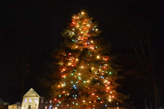 Bedford Village residents can gather on the Village Green and sing a selection of holiday music and the annual tree lighting ceremony.