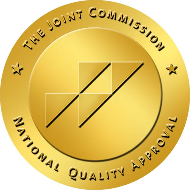 The gold seal given to Danbury's Western Connecticut Home Care agency for Home Care Accreditation by the Joint Commission.
