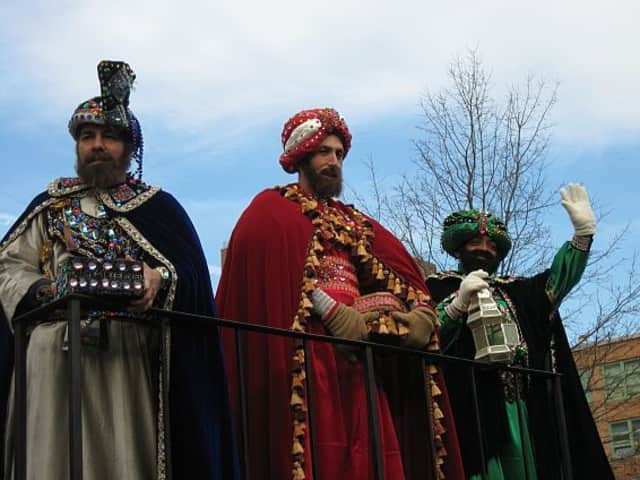The Three Kings will return to Mount Vernon for the annual holiday tree lighting on Dec. 15.