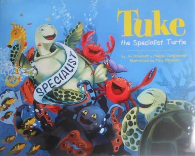 """""""Tuke The Specialist Turtl"""" by Jim Ritterhoff."""