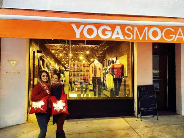 Yogasmoga  is on 68 Greenwich Ave. in Greenwich.