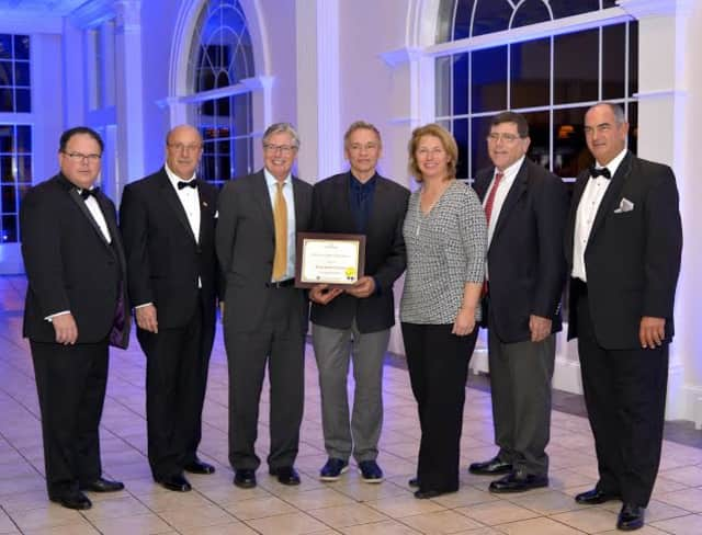 From left to right; Henry Rozewski; Norton Wheeler; Michael Murphy; Robert Keller, Dianne Eaton, Chris Murphy and Ken Boynto.