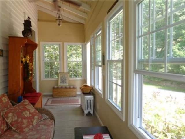 This house at 81 Sleepy Hollow Road in Sleepy Hollow is open for viewing on Sunday.