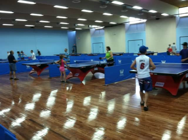 The Westchester Table Tennis Center will be the site of a fundraiser for the Wounded Warrior Project on Friday.