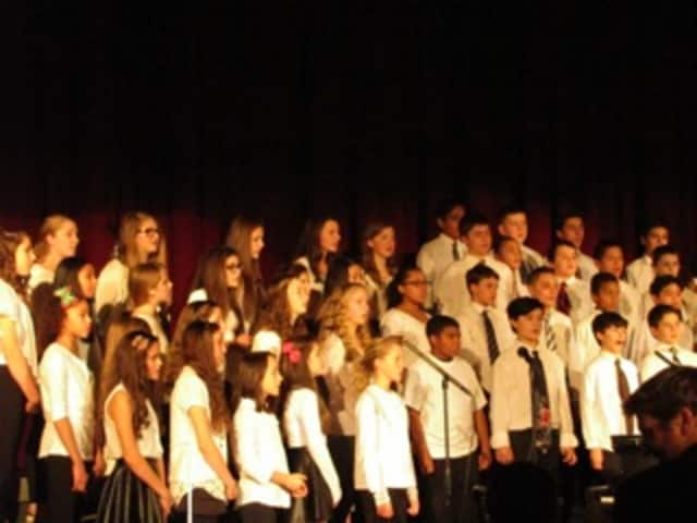 Valhalla Middle School students performed at the winter concert.
