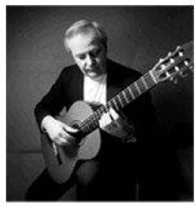 Professional guitarist and composer Jim Skinger, will play a mixture of classical music and jazz.